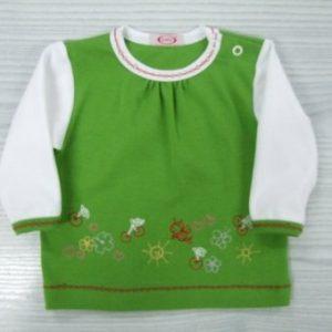 Bluzka zielona WISIENKA Dany