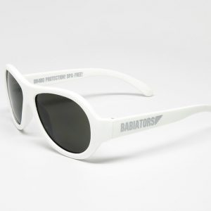 Okulary przeciwsłoneczne Babiators – Zwariowany biały