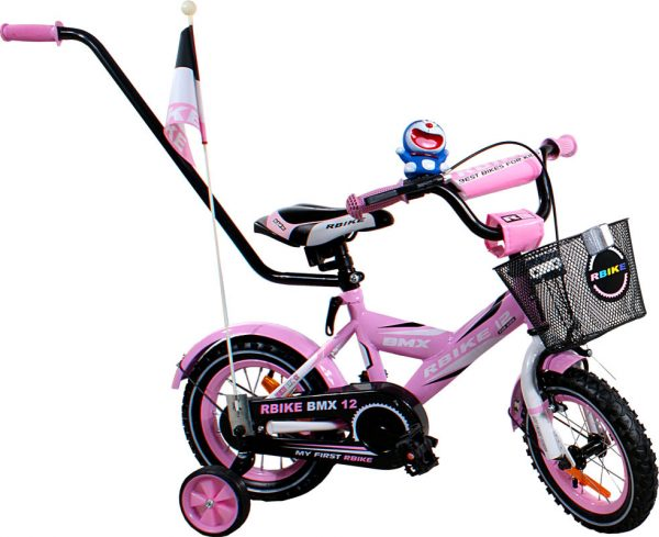 Rower BMX Rbike 1-12 pink