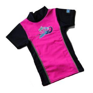 Koszulka UV Rash Splash About różowa