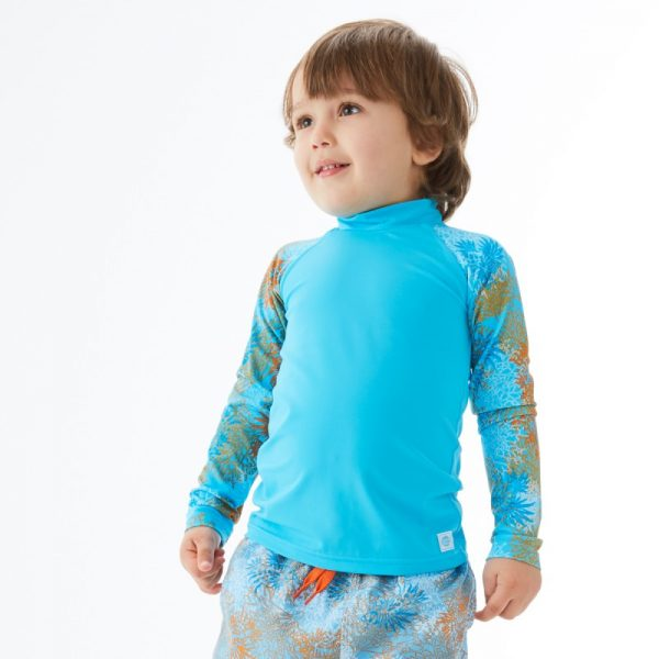 Koszulka UV Rash Splash About z długim rękawem niebieska