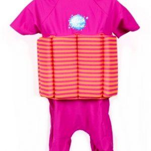 Kostium kąpielowy do nauki pływania UV Splash About – mango