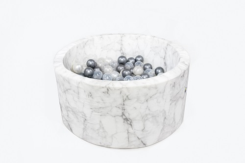Suchy basen z piłeczkami (200 szt) velvet – 90×40 cm