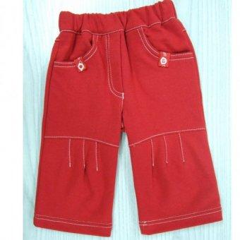 Dany, Spodnie dresowe WISIENKA czerwone