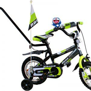 Rower BMX Rbike 3-12 grey-green