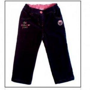 MMDadak, Spodnie sztruksowe granatowe Pixie Halloween