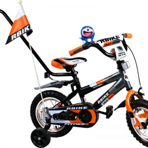 Rower BMX Rbike 3-12 grey-orange