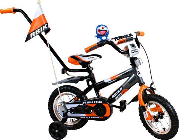 Rower BMX Rbike 3-12 grey-orange