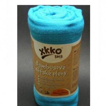 PIELUCHY BAMBUSOWE 70X70 Niebieskie