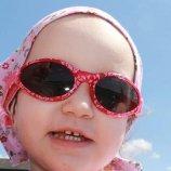 Baby Banz Adventure Series, okularki przeciwsłoneczne Fuschia Red