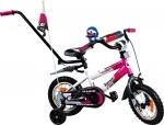 Rower BMX Rbike 3-12 white-purple