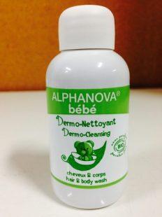 Alphanova Bebe Dermo – Żel do Mycia ciała i włosów, 30ml