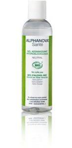 Alphanova Sante, Antybakteryjny żel do mycia rąk, bezzapachowy, 100ml