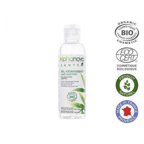 Alphanova Sante- Antybakteryjny żel do mycia rąk, bezzapachowy, 100ml
