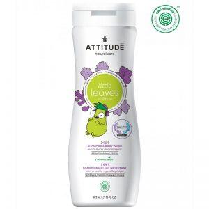 Attitude Płyn do mycia i szampon 2w1, Gruszkowy Nektar i Wanilia- 473 ml
