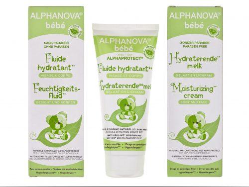Alphanova Bebe Fluid Nawilżający do Twarzy i Ciała do skóry przesuszonej, 100 ml