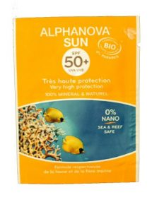 Alphanova Bio Krem Przeciwsłoneczny, filtr SPF50 SASZETKA