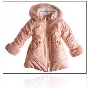 MMDadak Złoty płaszcz zimowy Kitten