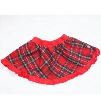 MMDadak, Spódnica w kratkę Świąteczny Pierniczek