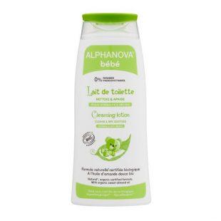 Alphanova Bebe Organiczne mleczko z oliwą do mycia niemowląt, 200 ml