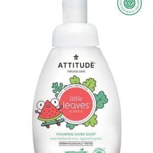 Attitude Mydło w piance do rąk dla dzieci, Little Ones, Arbuz i Kokos 295 ml