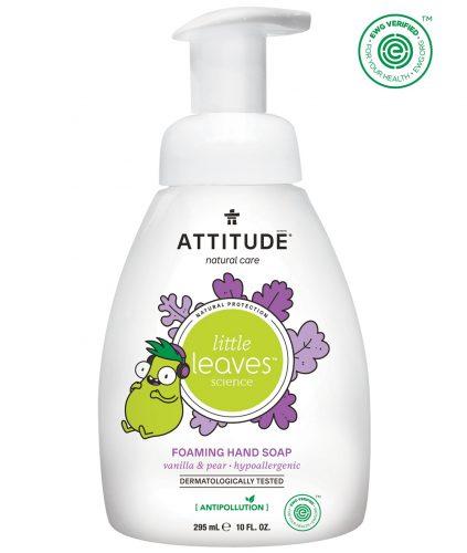 Attitude, Mydło w piance do rąk dla dzieci-Gruszkowy Nektar i Wanilia 295 ml
