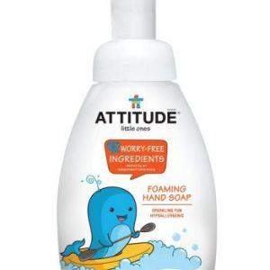 Attitude, Mydło w piance dla dzieci Musująca Zabawa (Sparkling Fun) 295 ml