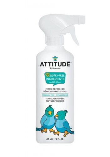 Attitude, Odświeżacz do tkanin w sprayu Bezzapachowy (fragrance free) 475 ml