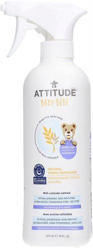 Attitude- Delikatny odświeżacz do materiałów dla niemowląt, Bezzapachowy, 475 ml
