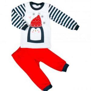 Piżama Świąteczna dla dzieci- Pingwin MMDadak
