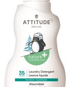 Attitude, Płyn do prania ubranek dziecięcych, Gruszkowy Nektar – 35 prań, 1050 ml