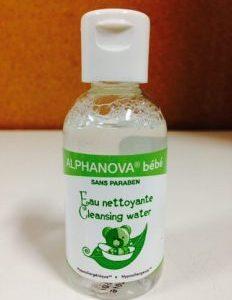 Alphanova Bebe Woda micelarna do mycia skóry atopowej, 50ml