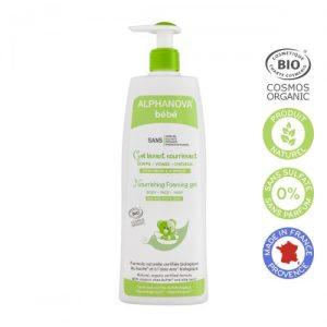 Alphanova Bebe Dermo, Odżywczy żel do mycia skóry suchej i atopowej 500ml