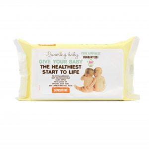 Organiczne Chusteczki Nawilżane – 72 szt. Beaming Baby