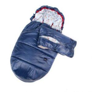 Poofi, Zestaw zimowy – śpiworek + mufka