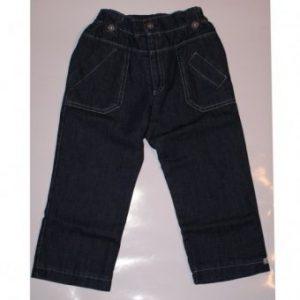 Dany Spodnie jeans z podszewką Misio r.92