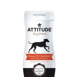 Attitude, Odżywka kojąca z owsem (Fragrance-free) BIO, Hipoalergiczna, 240 ml