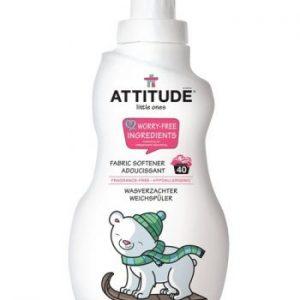 Attitude, Płyn do płukania ubranek dziecięcych Bezzapachowy (fragrance free) 40 płukań – 1000 ml