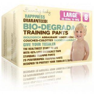 Beaming Baby jednorazowe biodegradowalne pieluchomajtki, L, 23 szt.