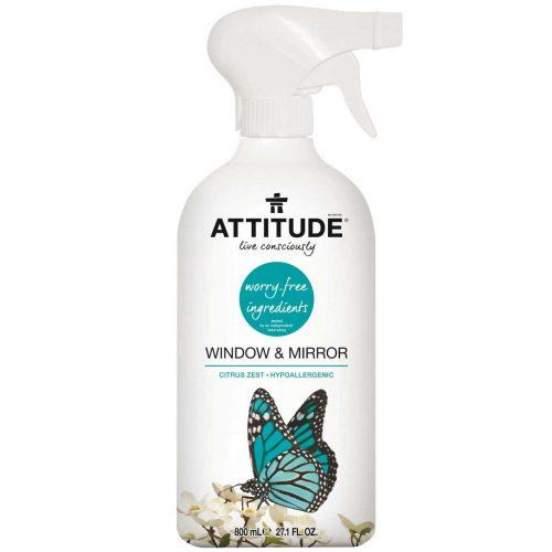Płyn do mycia okien, szkła 800 ml Attitude