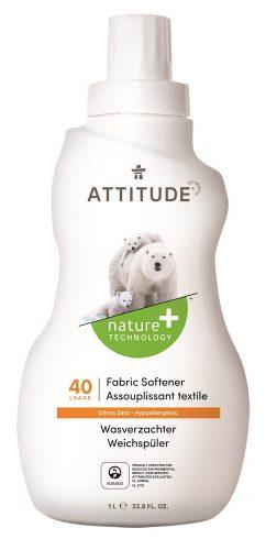 Attitude Płyn do płukania ubranek dziecięcych, Skórka cytrynowa 1040 ml