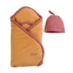 Poofi, Rożek i czapeczka Organic & Color- 2 kolory