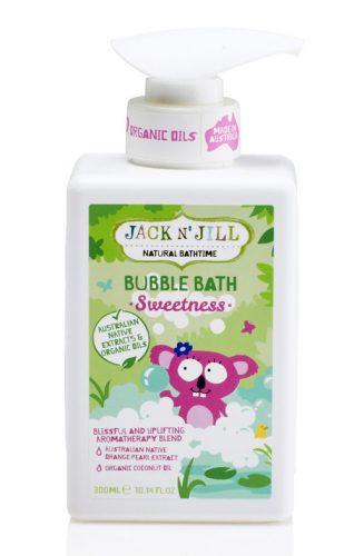 Jack N'Jill, Bąbelkowy Płyn do Kąpieli- Sweetness 300ml