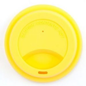 Jack N'Jill, Silikonowa nakładka na kubek- Żółta