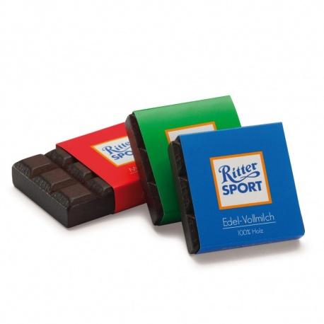 Drewniana  czekoladki Ritter Sport, firmy Erzi