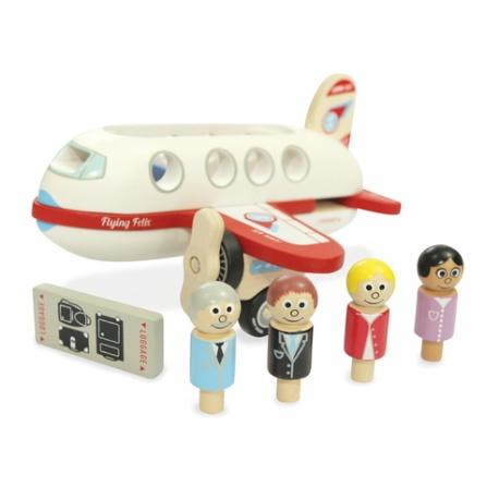 Indigo Jamm, Drewniany samolot pasażerski Felixa