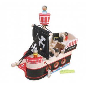 Indigo Jamm, Drewniany statek piracki Jolliego Jacka