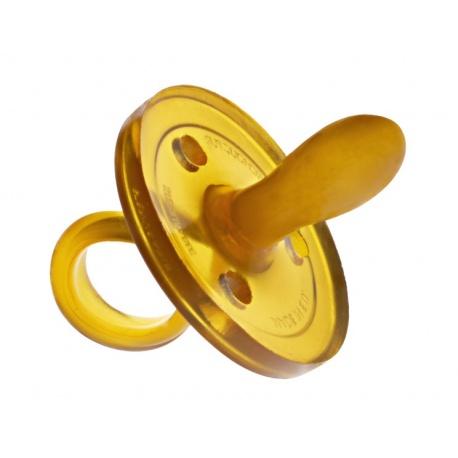Goldi, Ekologiczny kauczukowy smoczek uspokajacz – owalny