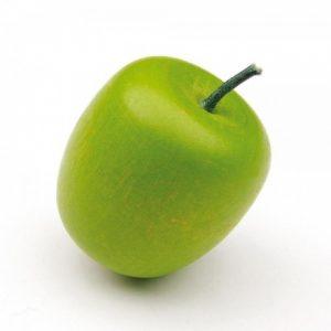 Drewniane zielone jabłko Erzi
