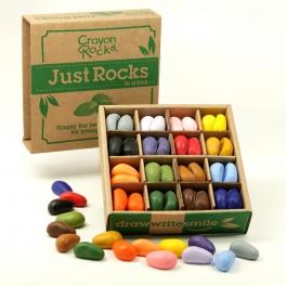 Crayon Rocks, Kredki w pudełku 64 sztuki – 16 kolorów